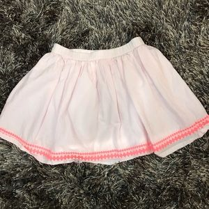 🌟GYMBOREE🌟 size 8 pink skirt diamond stitching